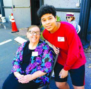 Lana Noone and grandson